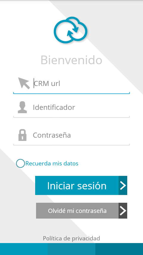 aplicación movil Suite CRM Sugar CRM CE