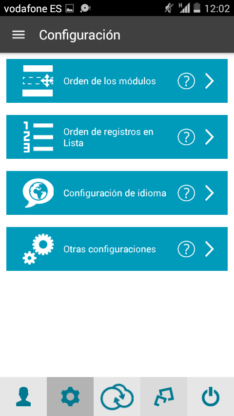 App movil para Suite CRM Sugar CRM CE