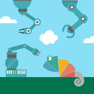 Flujos de trabajo y automatizaciones con CRM
